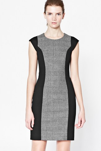 Madame Mary Wool-Blend Dress