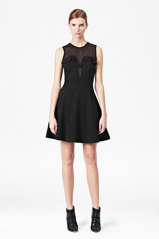 Dolly Mesh Jersey Dress