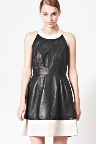 Jive Leather Dress