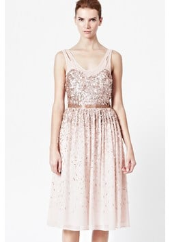 Shimmer Shower Sequin Midi Dress