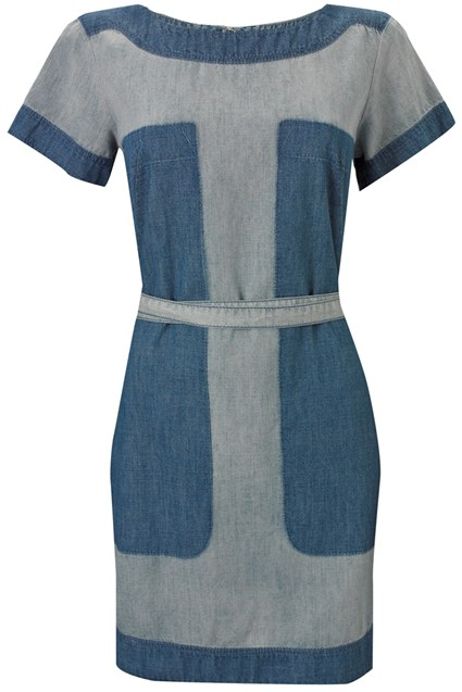 Shadow Denim Dress