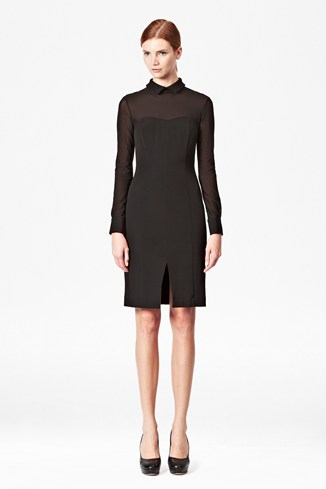 Beatrix Stretch Collar Dress