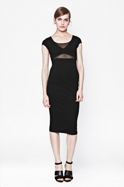Harper Stretch Midi Dress