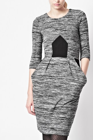 City Space Jersey Dress