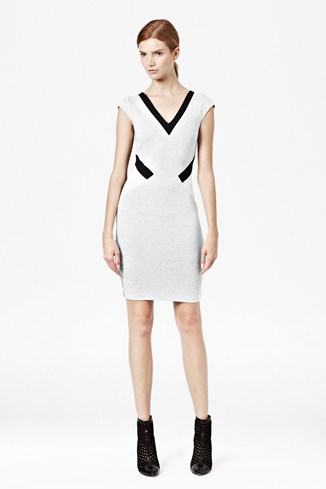 Sarah Stretch Panelled Dress