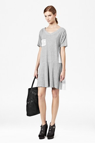 Ophelia Crochet Tee Dress