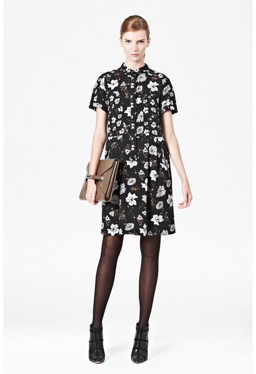 Bloomsbury Floral Shirt Dress