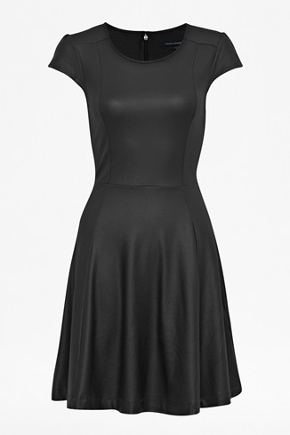 Pipa Coated Flared Dress