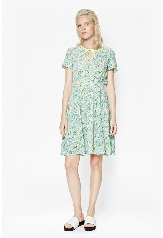 Marylin Floral Tea Dress