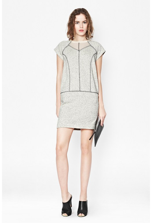 Speckled Sweat Dress