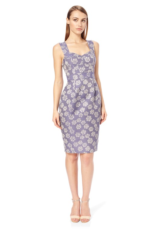 Fantasy Jacquard Dress