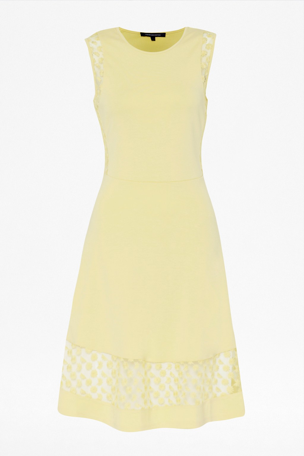 french connection lemon dress