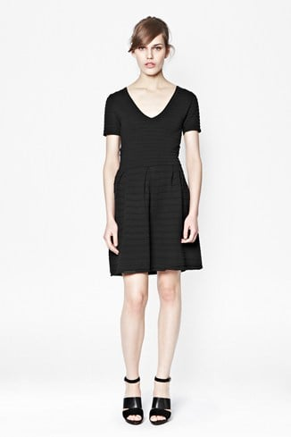 Grace Knit Flared Dress