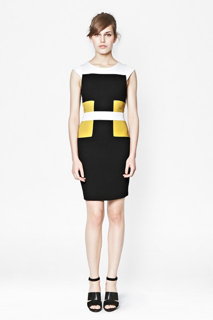 Manhattan Jersey Colour Block Dress