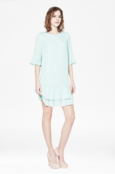 Amalie Drape Dress