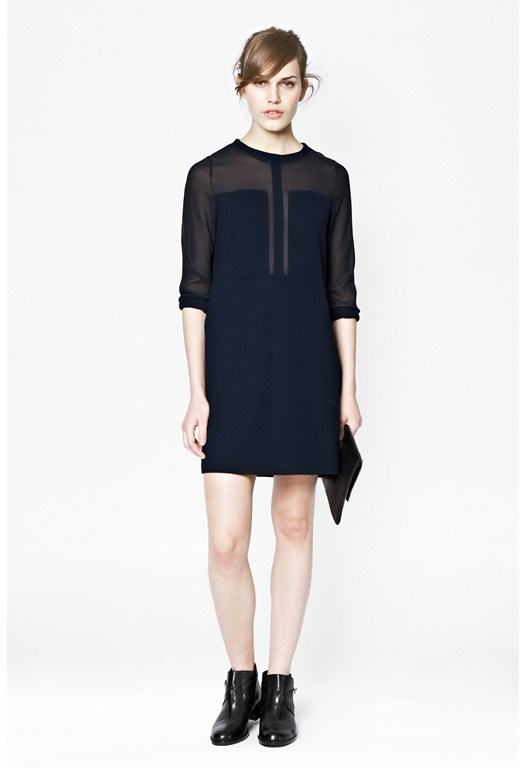 Alexa Jersey Tunic Dress