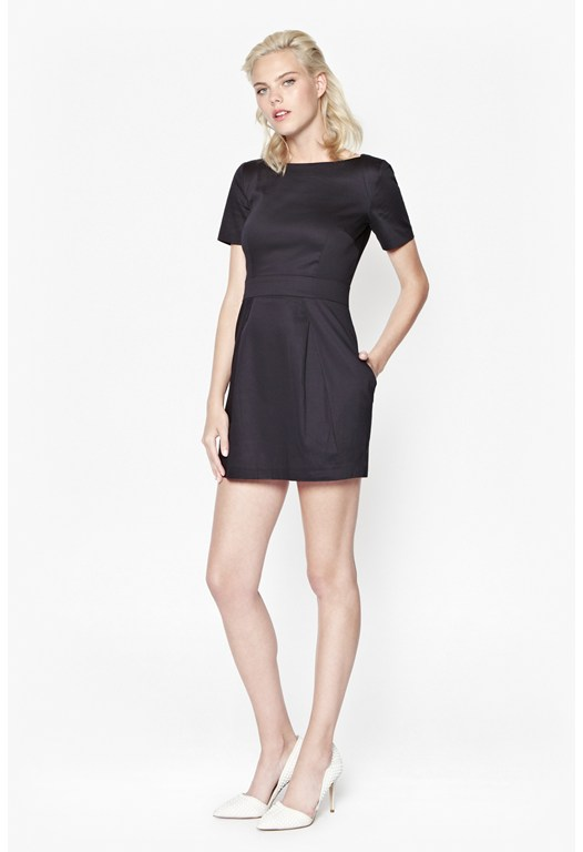 Plain Richie Structured Dress