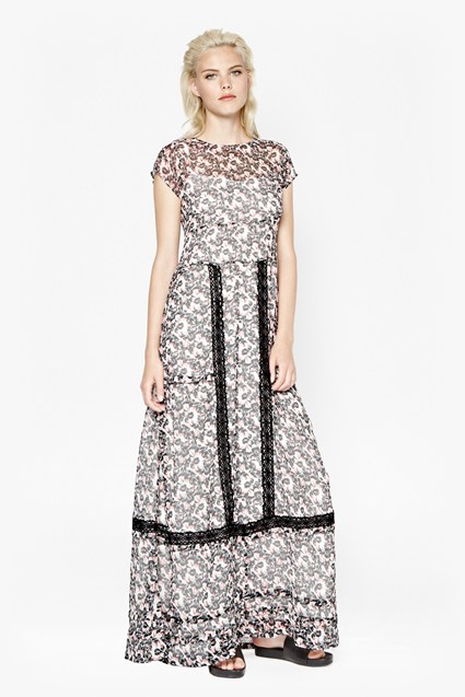 Flower Fields Maxi Dress