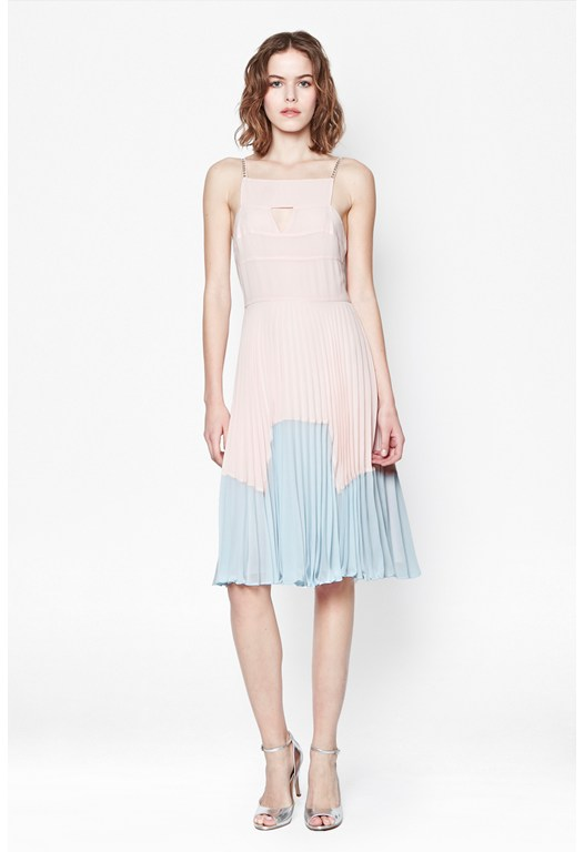 Solar Spells Pleated Dress