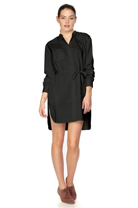 Fresh Cotton Shirt Dress