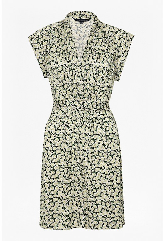 Tropicana Daisy Jersey Dress