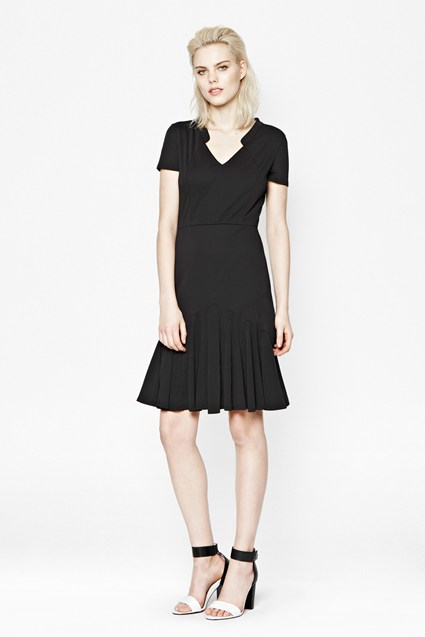 Claudia Crepe Dress