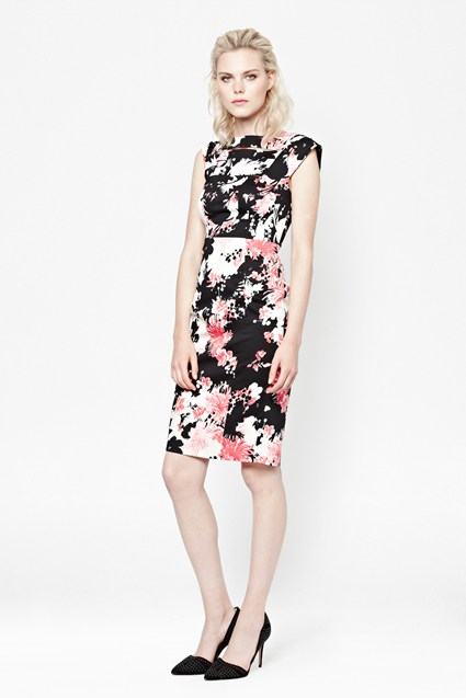 Belle Garden Structured Dress
