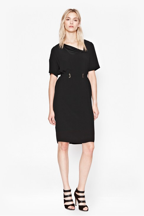 Emmeline Crepe Dress