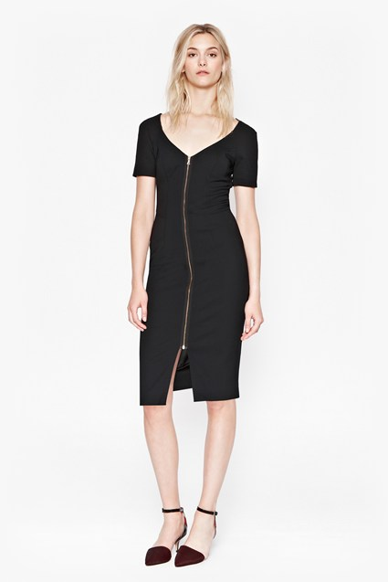 Classic Edie Stretch V-Neck Dress