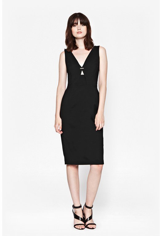 Classic Edie Stretch Cut-Out Dress