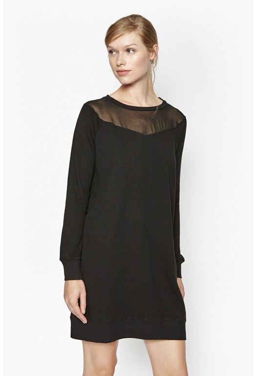 Ditton Sheer Sweat Dress