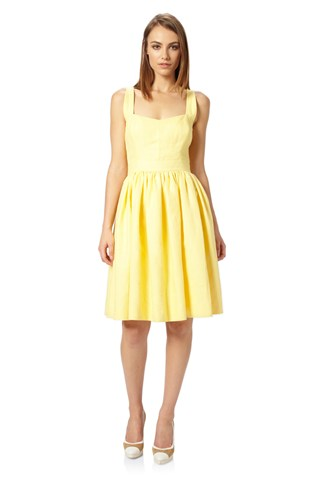Mandy Linen Strappy Dress