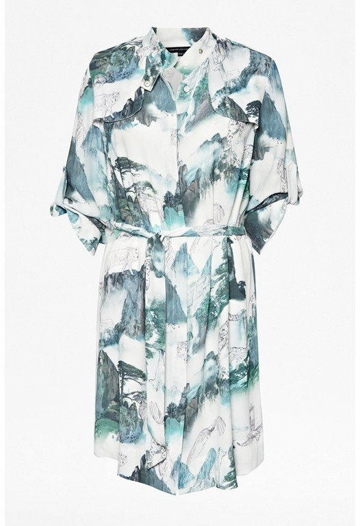 Misty Mountain Shirt Dress