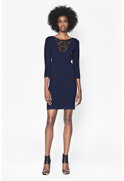 Danni Ludo Lace Detail Dress