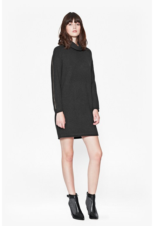 Autumn Vhari Roll Neck Dress