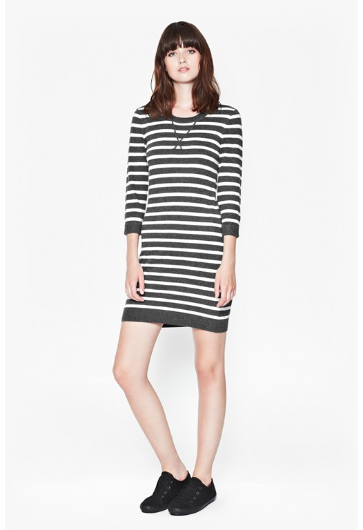 Bambino Knits Striped Dress
