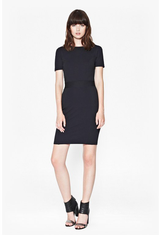 Manhattan Textured Bodycon Dress