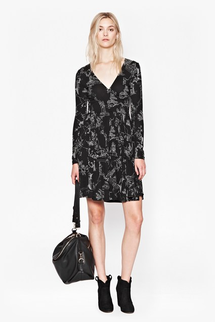 Anastasia Jersey Wrap Dress