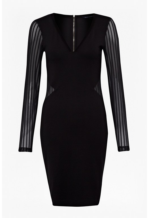Liv Sheer Sleeve Bodycon Dress