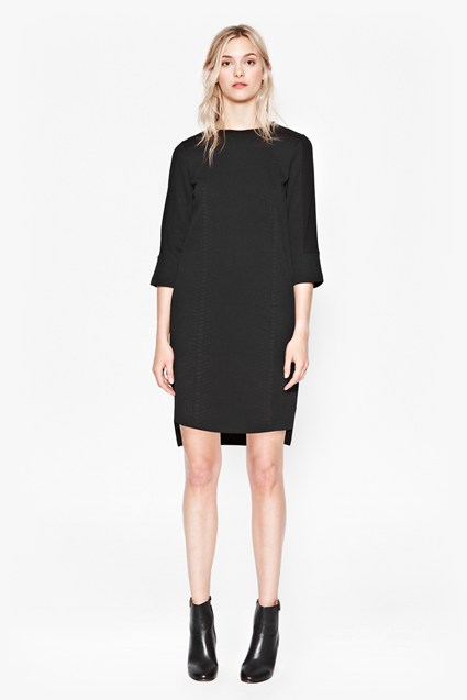 Milly Mesh Jersey Dress