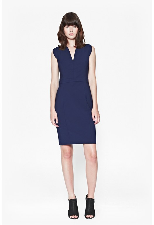 Lolo Stretch Capped Sleeve Dress