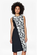 Looks Great With Paisley Party Crepe Dress