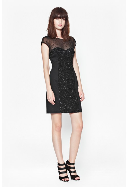 Moondust Sequinned Dress
