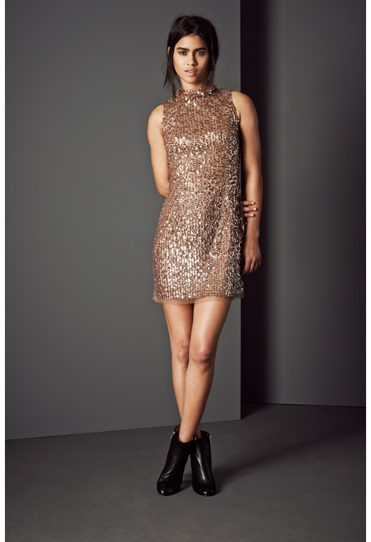 Moonbeamer Sequinned Dress