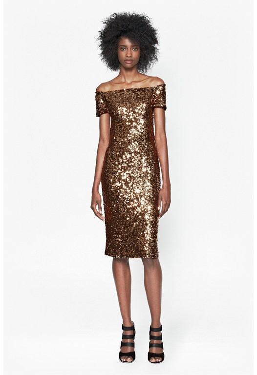 Cosmic Sparkle Midi Dress