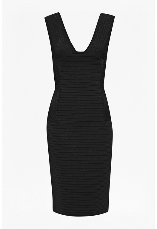 Manhattan Ribbed Dress