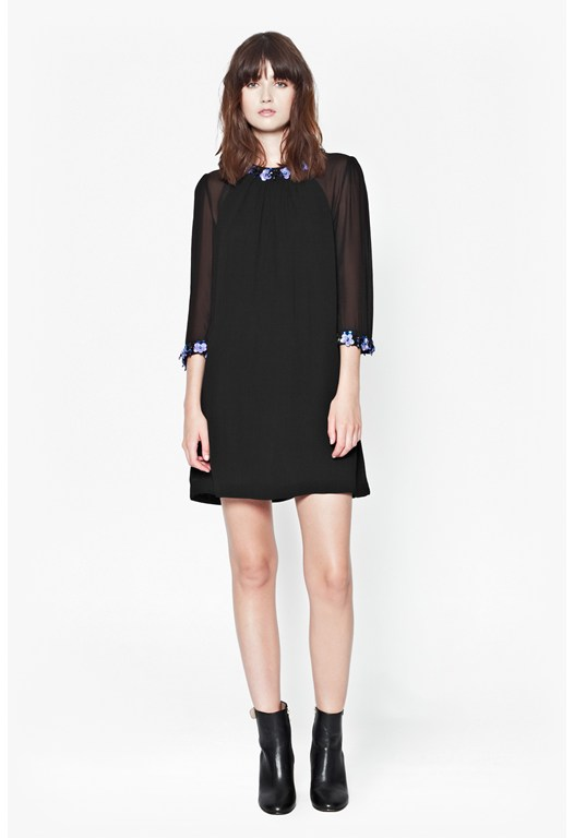 Jewel Drop Tunic Dress