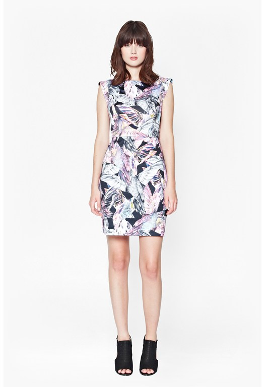 Calliope Printed Dress