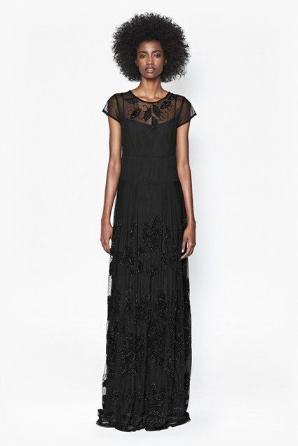 Socorro Sequinned Maxi Dress