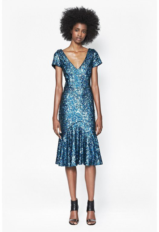 Sirius Sequinned Dress
